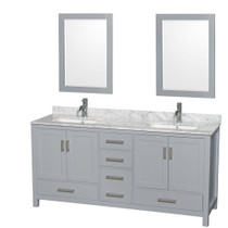 "Armada 60"" Bathroom Vanity Light Grey"