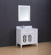 "Casa 36"" bathroom Vanity White"