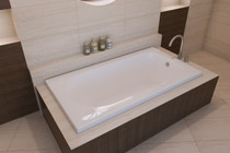 "Mirolin Bliss Bath Tub  60"" x 32"" x 20"""