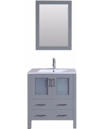 "Bello 30"" Bathroom Vanity Ice Grey"