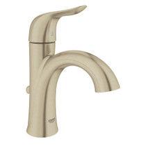 Grohe Agira Single-Handle Bathroom Faucet Lavatory Centreset Brushed Nickel Finish
