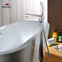 Royal Square Freestanding Tub Filler Faucet Chrome