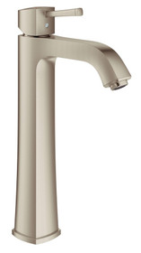 "Grohe Grandera Single-lever basin mixer 1/2"" XL-Size Brushed Nickel Finish"