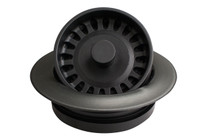 Karran Quartz Disposal Flange Black