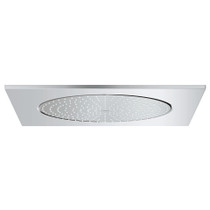 "Grohe Rainshower F-Series 20"" Ceiling Shower Head - 1 spray Chrome Finish"