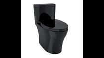 TOTO MS646124CEMF Aquia IV One Piece Toilet Black