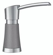 Blanco Artona Soap Dispenser in Stainless Finish / Metallic Gray