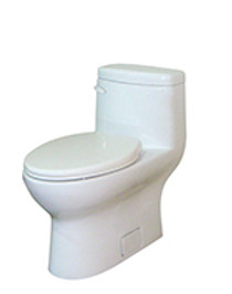 "Gerber Avalanche CT 1.28gpf One-Piece Toilet Gravity Fed Concealed Trapway / 12"" rough-in"