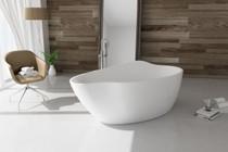 Zitta Roccia Freestanding Bathtub 68 7/8″ x 31 1/2″ x 27 1/8″