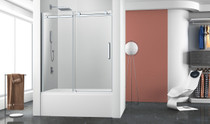 Zitta Bellini Bathtub 1 Door, 1 Fixed