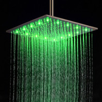 "Castle Bay Murano Sqaure Rainfall 8"" Showerhead"