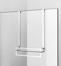 Zitta Shower Shelf Unit Kit With Towel Bar