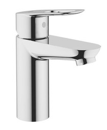 Grohe BauLoop Single Hole Bathroom Faucet with Loop Handle in Starlight Chrome