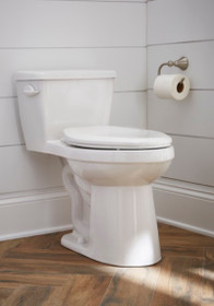 "Gerber Avalanche® 1.28 gpf 12"" Rough-In One-Piece Compact Elongated ErgoHeight Toilet"