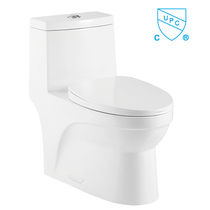 Crown Ultimate Dual Flush Double Cyclone Flushing One Pc Toilet