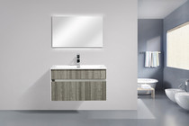 "Spring 31"" Wall Mount Bathroom Vanity"