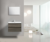 "Slice 24"" Wall Mount Bathroom Vanity"