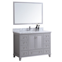 "Woodbridge 48"" Bathroom Vanity Light Grey"