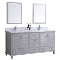 "Woodbridge 72"" Bathroom Vanity Double Sinks"