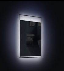 "Slim LED Mirror 24"" x 24"""