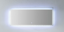 "Slim LED Mirror Square Style 28"" x 24"""