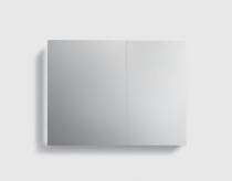 """30"""" x 26"""" x 5"""" Aluminum Medicine Cabinet Mirror"""