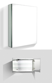 Happy Mirror- Aluminum Cabinet Mirror 30*5*26