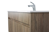 "Paola 24"" Wall Mount Bathroom Vanity Ash"