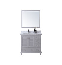 "Niagara 42"" Bathroom Vanity Light Grey"