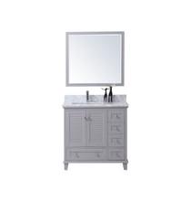 "Woodbridge 42"" Bathroom Vanity Light Grey"