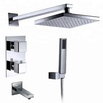 Royal Miami 3 Way Thermo Shower System Kit Chrome