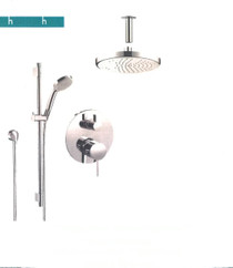 Hansgrohe HG-KIT2CEIL Thermostatic 2-Function Shower Kit - Chrome
