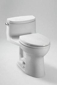 TOTO Supreme II One-Piece High-Efficiency Toilet with SanaGloss 1.28GPF Colonial White