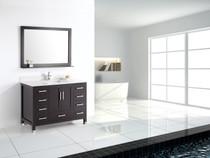 """Armada 48"""" Bathroom Vanity Espresso"""