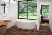"Mirolin Cari Freestanding Tub 60"" x 32"" x 22"""
