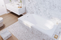 "Mirolin Marlowe Drop In Bath Tub 60"" x 36"" x 20"""
