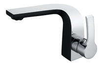 Royal Kingston Single Handle Faucet Black & Chrome