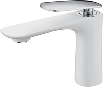 Royal Fairview Single Handle Faucet White & Chrome