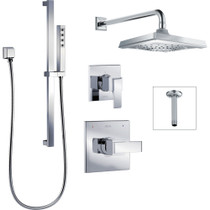 Delta ARA DF-KIT4-WSB1 2 Way Shower Chrome