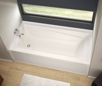 "Maax Exhibit 60"" x 30"" x 19"" Rectangular Bathtub"