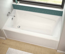 "Maax Exhibit 60"" x 32"" x 19"" IFS Rectangular Bathtub"