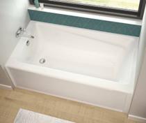 """Maax Exhibit 72"""" x 42"""" x 18"""" Rectangular Bathtub"""