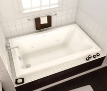 "Maax Pose 60"" x 30"" x 22"" Rectangular Bathtub"