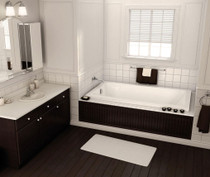 "Maax Pose 60"" x 32"" x 24"" Rectangular Bathtub"