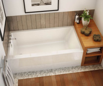 "Maax Rubix 60"" x 32"" x 19"" Rectangular Bathtub"