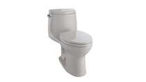 TOTO UltraMax II Elongated Toilet 1.28 GPF with SanaGloss - ADA Sedona Beige