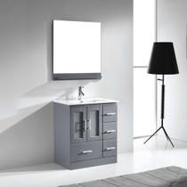 "Hamilton 32"" Bathroom Vanity Ice Grey"