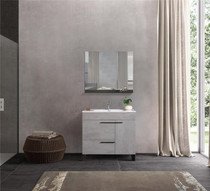Modern Gill  Bathroom Vanity 36""