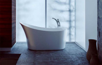 Zitta Kanwa Freestanding Bathtub 55""