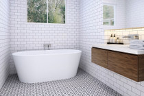 Zitta Espa Freestanding Bathtub 66""